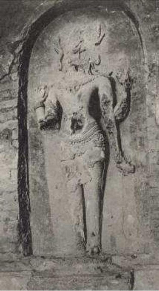 Bagan (Nat Hlaung Kyaug) (Standing Visnu) (11th Century)