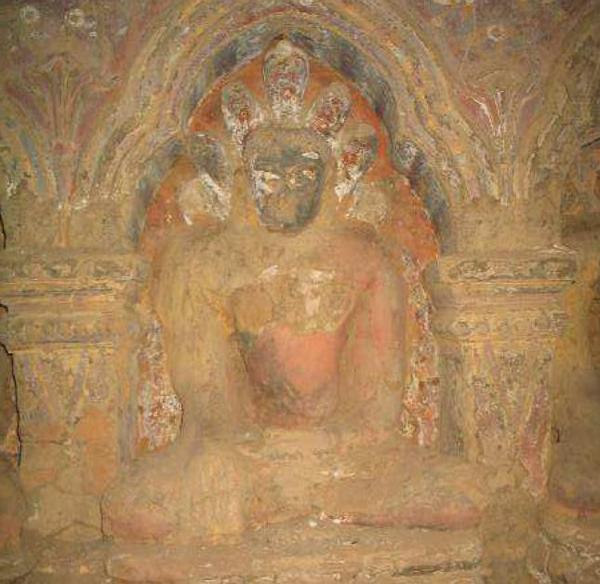 (Myin Pya Gu) (Buddha Sheltered By Mucalinda Naga) (Late Anawrahta Period) (1070-1075)