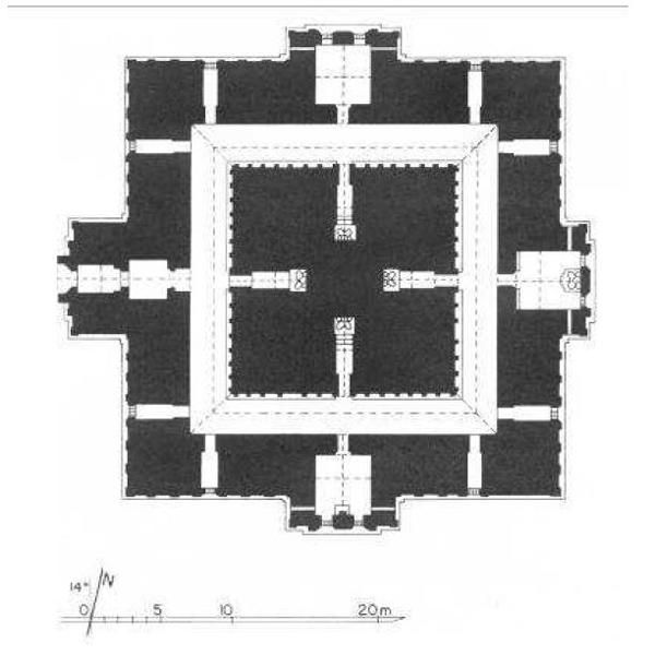 (Myin Pya Gu Plan) (Late Anawrahta Period) (1070-1075)