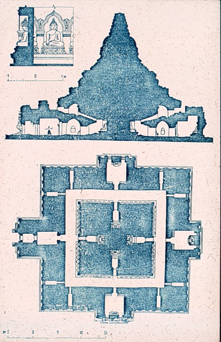 Floor plan of Myazedei