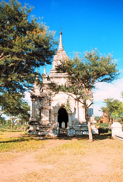 004-Temple with stupa inside, general view