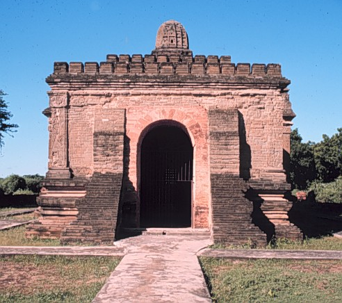 Nanpaya Temple, brick faced with stone