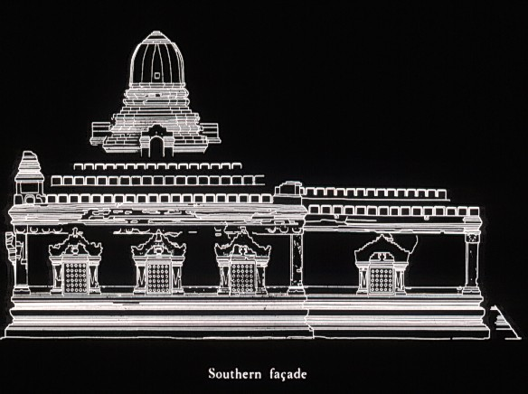 Nanpaya Temple, Elevation, side view
